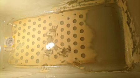 お風呂浴槽人工大理石大きなひび割れライニング処理