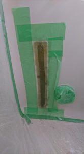 お風呂浴槽大きなひび割れFRP処理