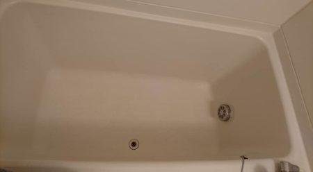 お風呂浴槽大きなひび割れ修理完了