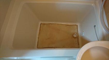 お風呂浴槽ひび割れライニング処理