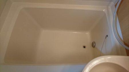 お風呂浴槽ひび割れ修理完了